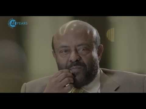 Shiv Nadar sharing his views on HCL's 40th Anniversary