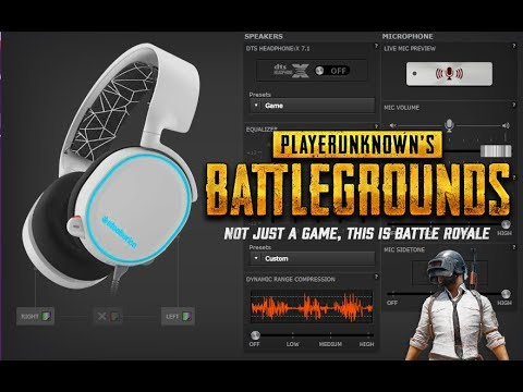 Pubg Headset Equalizer Guide Steel Series Arctis Youtube