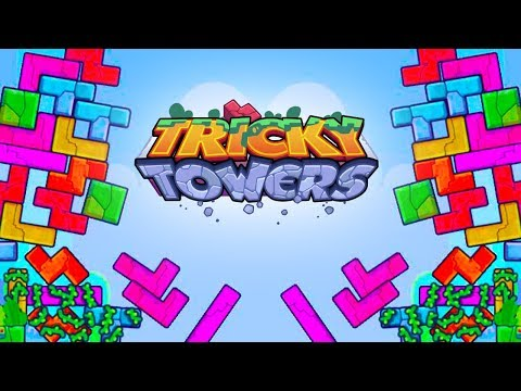 Survival Specialist! - Tricky Towers with The Crew!