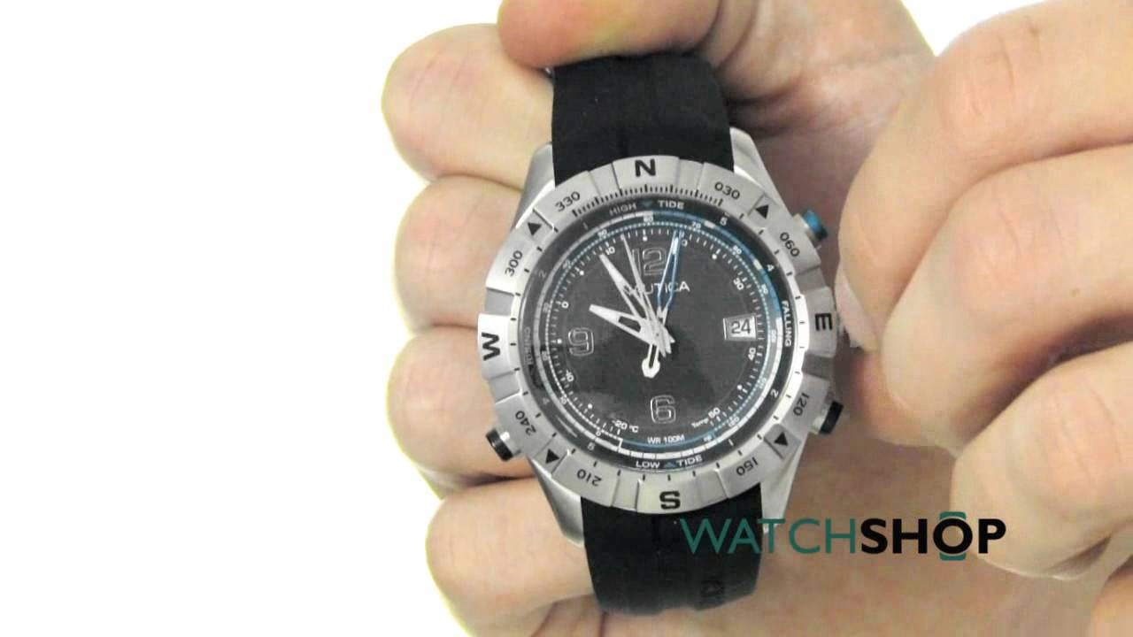 Buy nautica men's 19508g nst stainless steel watch and other wrist watches at amazon. Com. Our wide selection is eligible for free shipping and free returns.