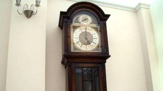 Peerless Embee Triple Chime Longcase Grandfather Clock Westminster