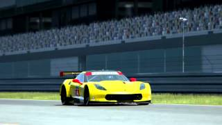 Assetto Corsa Corvette C7R sound mod preview