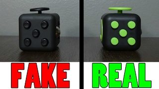 how to spot a fake fidget cube online