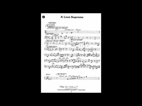John Coltrane A Love Supreme Backing Track
