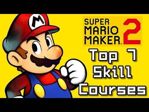 Super Mario Maker 2 Top 7 SKILL COURSES (Switch) - YouTube