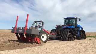 New Holland T9.615 SmartTrax with Lienert Engineering Deep Ripper