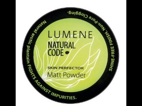 lumene natural code skin perfector matte powder