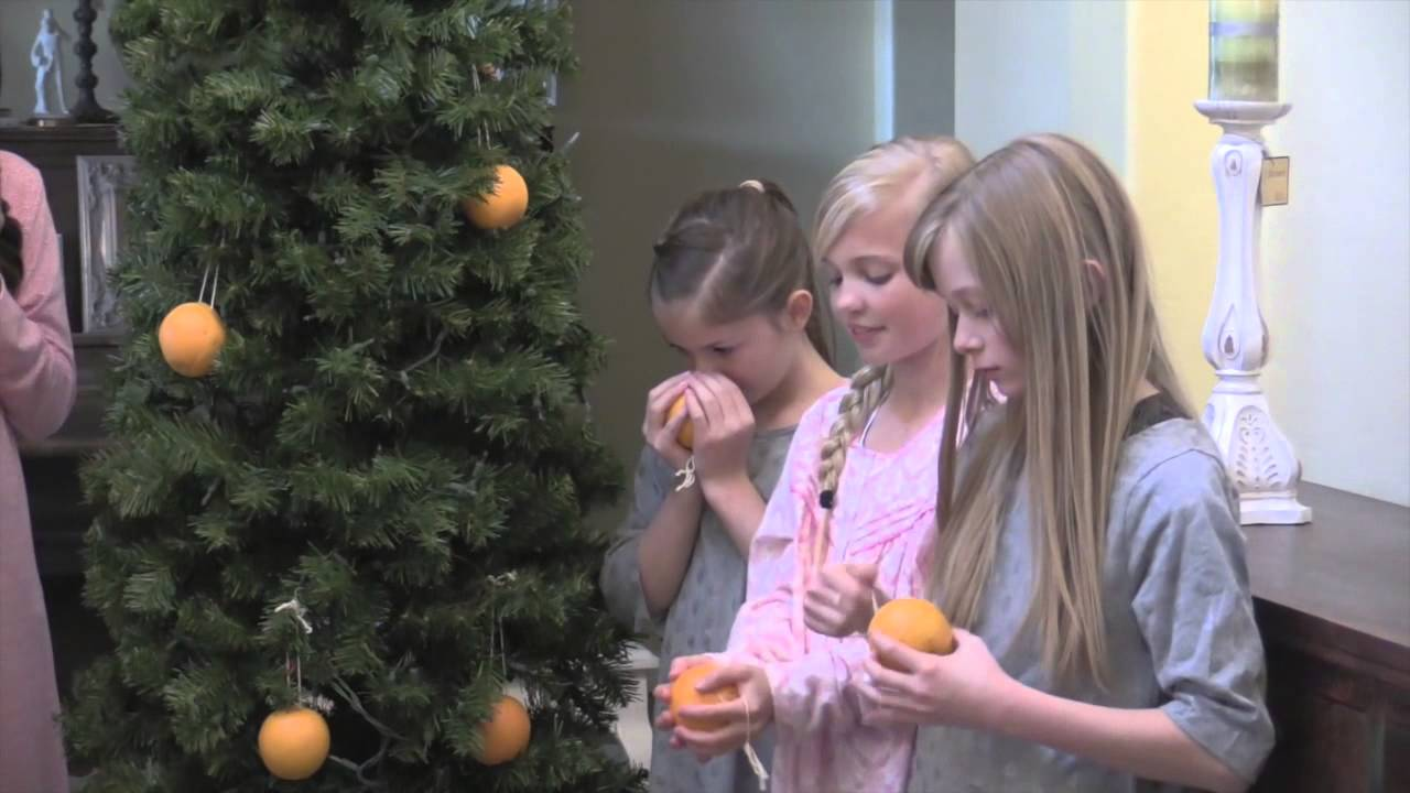 christmas oranges granite dells ward - Christmas Oranges