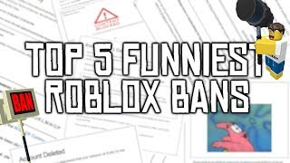 Top 5 Funniest ROBLOX Bans