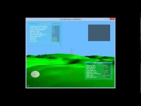 Golf Ball Physics Simulation