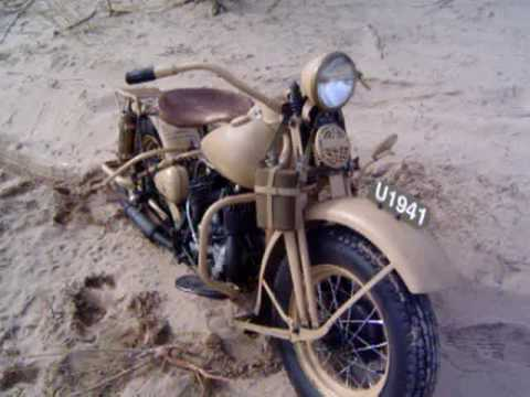 Harley Davidson WL 1941 South African Union WWII
