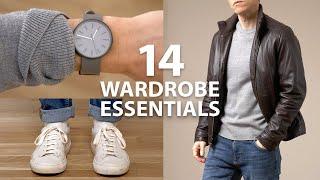 14 Wardrobe Essentials Every Man Needs | Casual Style Staples cмотреть видео онлайн бесплатно в высоком качестве - HDVIDEO