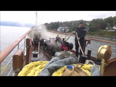 P.S. Waverley Cruise Helensburgh to Loch Long Oct 2016.mp4