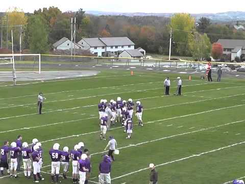 Ticonderoga - AuSable Valley JV Football  10-10-14