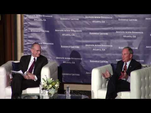 Eizenstat Lecture Series 2016 - Michael Bloomberg - Part 2