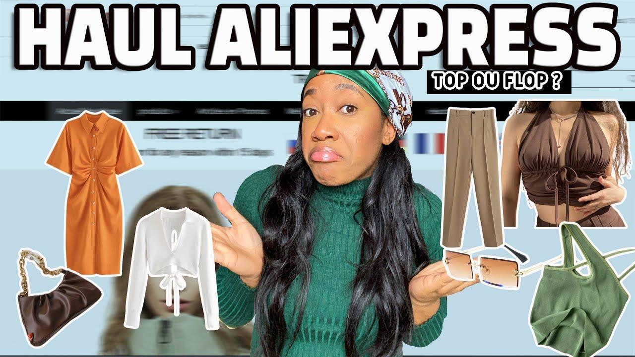 HAUL ALIEXPRESS (Vêtements, accessoires) + liste vendeurs | NAKAD