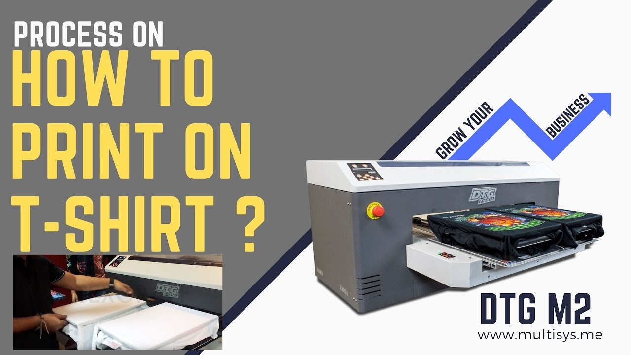 Direct to Garment : T-shirt Printing Process - DTG M2