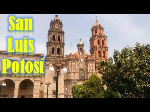 Catedral y centro historico de San Luis Potosi