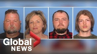 Ohio family arrested in