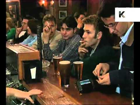 1990s UK Pub, After Work Drinking
