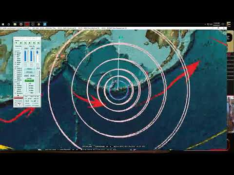 10/24/2017 -- Large Earthquake M6.7 strikes deep below West Pacific -- Larger earthquakes possible