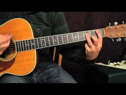 Guitar Lessons - Trouble - Cat Stevens - Acoustic Guitar Lesson Tutorial