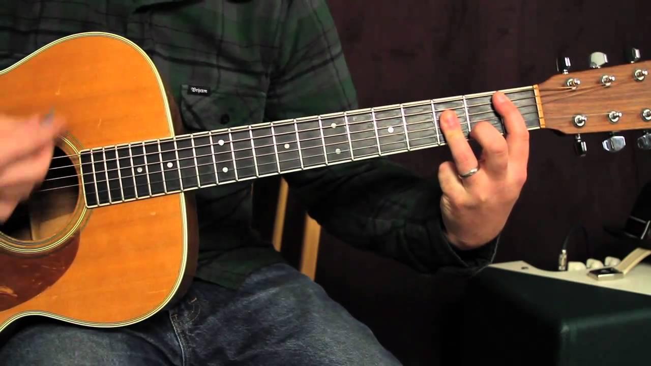 Guitar Lessons Trouble Cat Stevens Acoustic Guitar Lesson