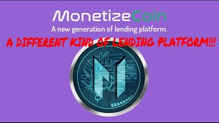 NEW ICO MONETIZE COIN, NEW LENDING PLATFORM - LENDCONNECT IS BACK! Part 2