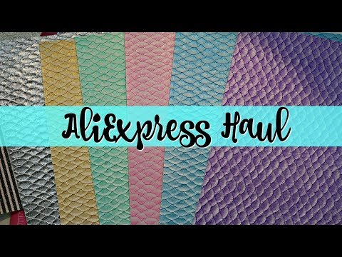 ALIEXPRESS HAUL | EMBELLISHMENTS