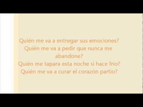 Alejandro Sanz - Corazón Partio Letra