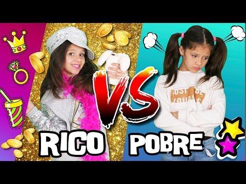 🌈 RICO VS POBRE 🎀 EXPECTATIVA VS REALIDAD De Ser RICO 📚RUTINA DE LA MAÑANA PARA IR A ESCUELA
