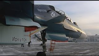 Новому Су-30СМ морской авиации ВМФ РФ присвоено наименование «Иркутск»(, 2016-11-28T18:10:38.000Z)