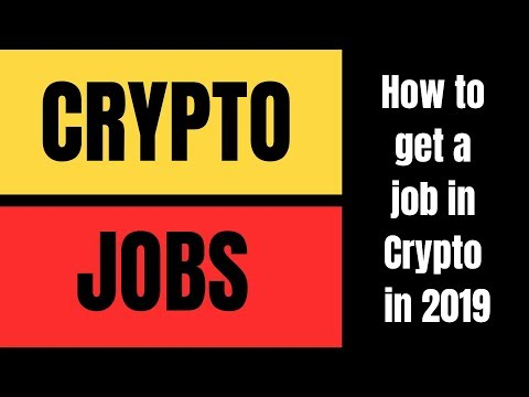 Finding A Crypto Job In 2019