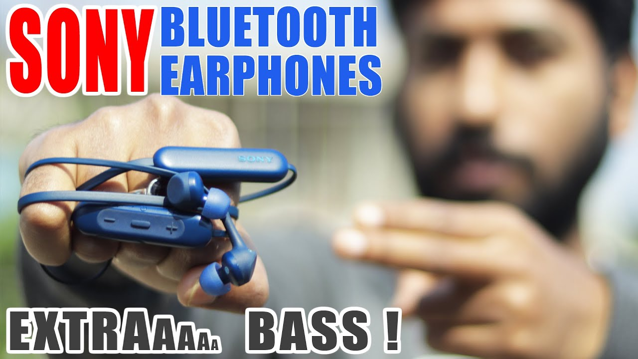 Sony Bluetooth Earphones Wi Xb400 Extra Bass Review Best Budget Bluetooth Headphone Under 5000 Youtube