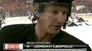 Jordan Leopold Pregame Interview (3-2-10)