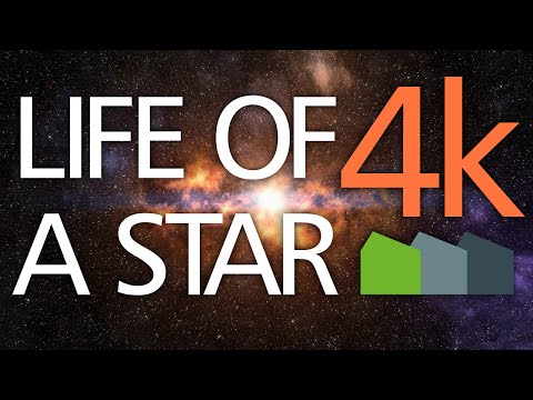 Life Cycle of a Star - 4K Animation / Documentary