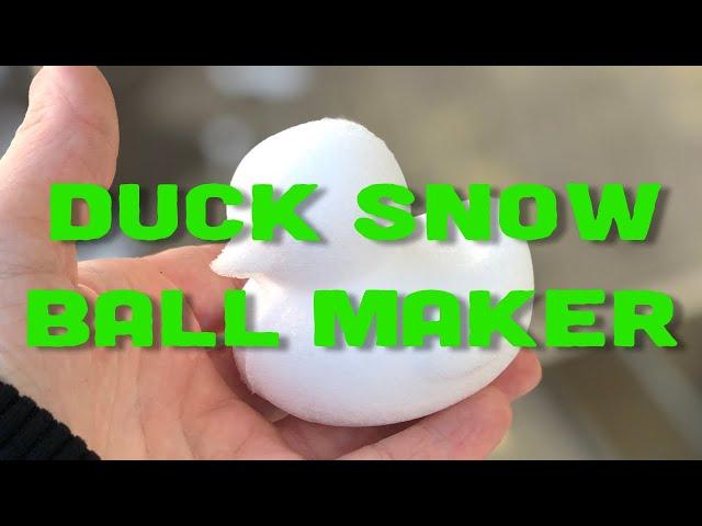 DUCK SNOW BALL MAKER