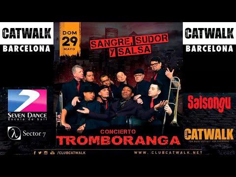 "TROMBORANGA live Barcelona party release new album ""Sangre Sudor y Salsa"""