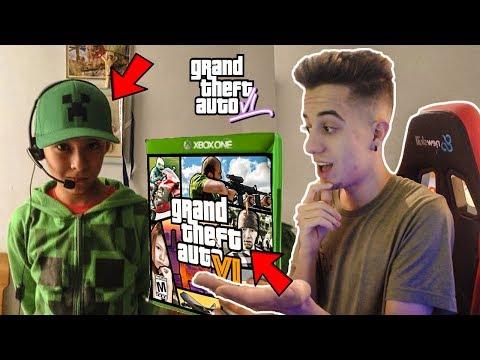 ESTE NIÑO RATA dice que ya TIENE EL GTA 6!! Grand Theft Auto VI thumbnail