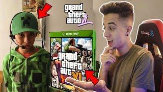 ESTE NIÑO RATA dice que ya TIENE EL GTA 6!! Grand Theft Auto VI