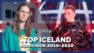 Eurovision ICELAND (2010-2020) | My Top 11