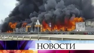 Крупный пожар под Пятигорском локализован.