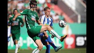 Soccer men s 6 6ft CB Markus Waffler Germany recruit 2021