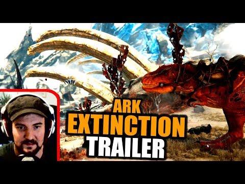 Wir reagieren auf Ark Extinction DLC Trailer