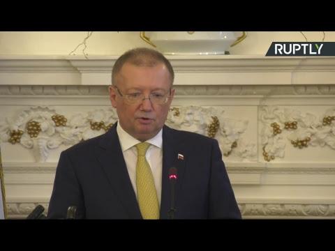 Посол РФ в Великобритании проводит пресс-конференцию по ходу расследования дела Скрипаля