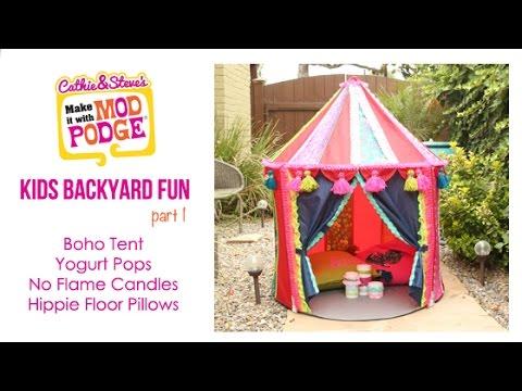buy popular f0e01 2d58b Kids Backyard Fun: DIY Ikea Hack Boho Tent