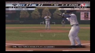MLB 2K10 (PS2) Yankees vs. Twins (Part 1)