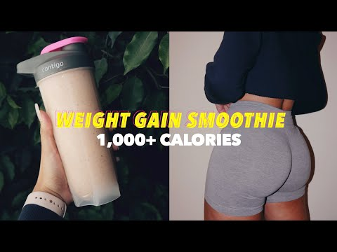 my-1,000+-calorie-weight-gain-smoothie-*gain-weight-the-easy-way*-|-get-thick-edition