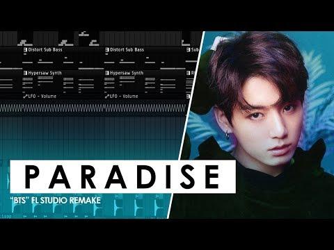 BTS - Paradise Instrumental (FL Studio Remake)