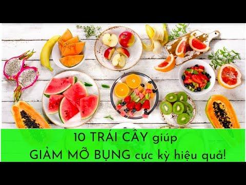 10 trái cây giúp giảm mỡ bụng cực kỳ hiệu quả